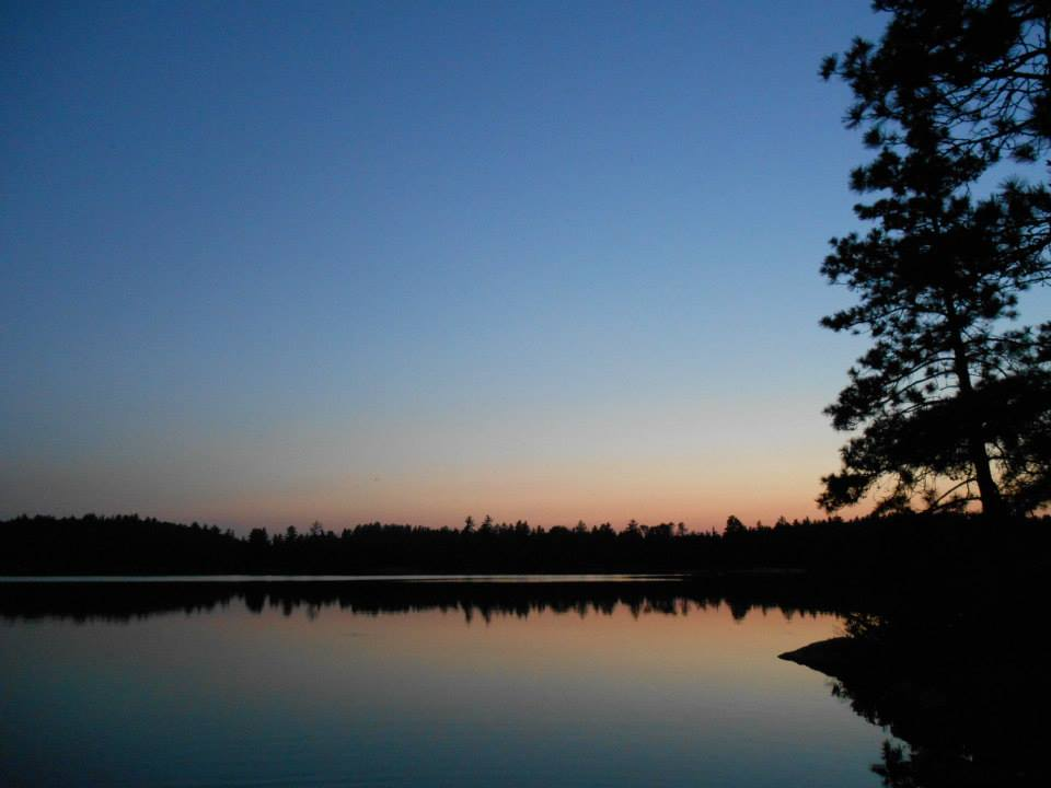 Image for a lake at sunset